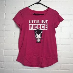 Little But Fierce Bride of Frankenstein tee Target